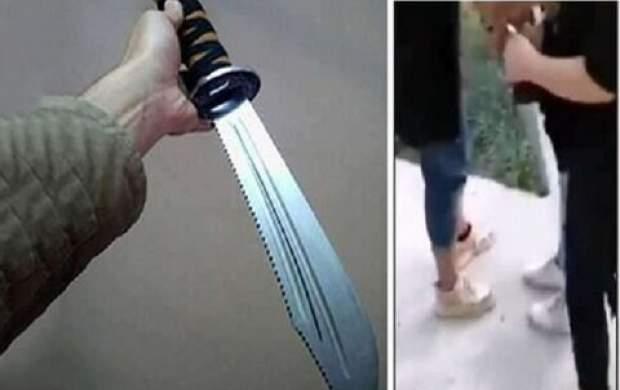 قمهکشی و حمله باورنکردنی یک زن در ابهر