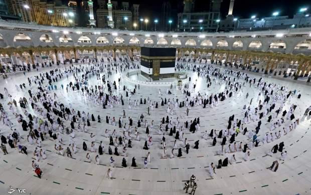 نوای لبیک اللهم لبیک در مسجدالحرام