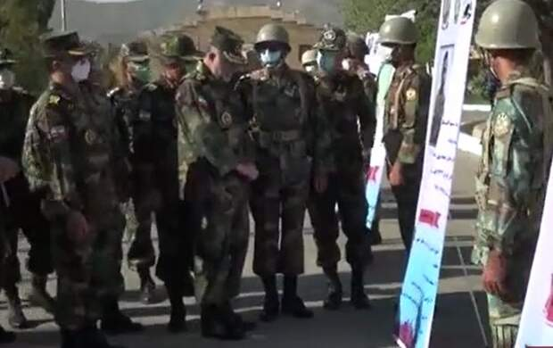 بازدید امیر حیدری از تیپ ۳۲۸ متحرک هجومی مریوان