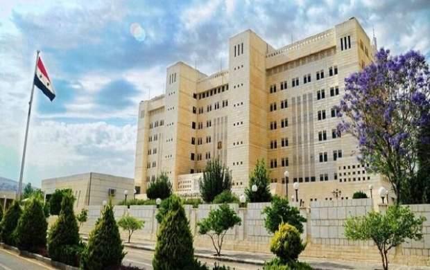 هشدار شدید اللحن دمشق به تل آویو