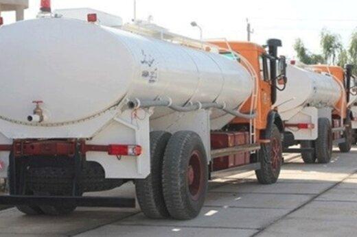حرکت تانکرهای آبرسان سپاه به خوزستان