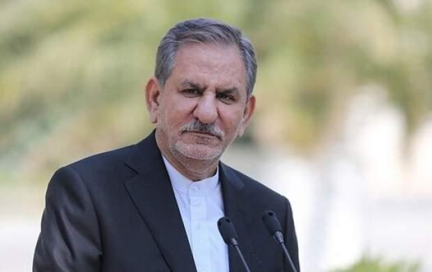 جهانگیری: کسی برای آب خوزستان برنامه ندارد