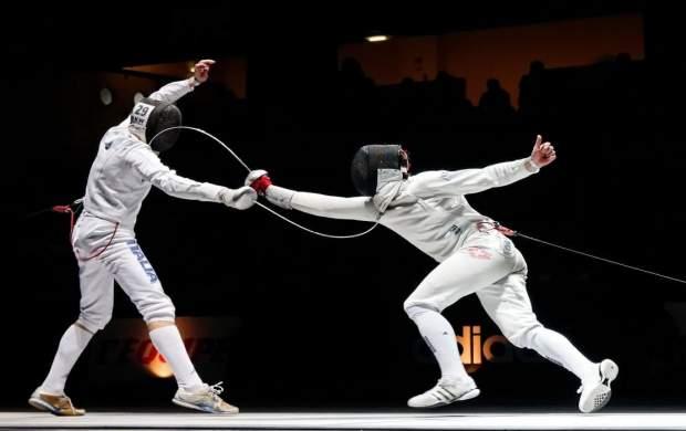شاهکار پاکدامن در شمشیربازی المپیک