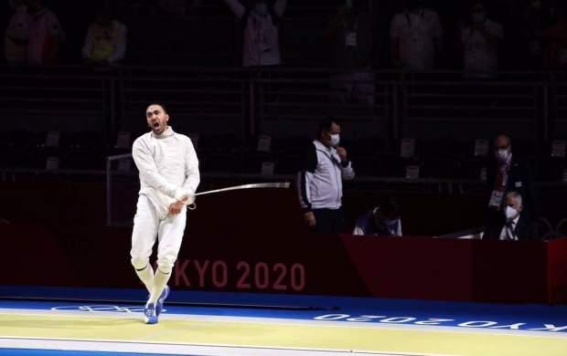نماینده ایران در جمع ۸ شمشیرباز برتر المپیک