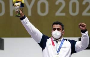 نخستین مدال طلای المپیک برای کاروان ایران
