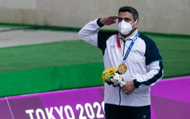 تبریک قالیباف در پی کسب مدال طلا فروغی