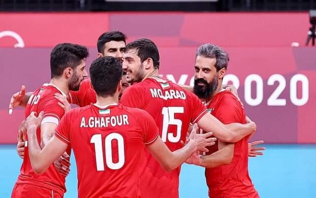 برد قاطع تیم ملی والیبال ایران مقابل ونزوئلا