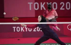 نخستین برد بدمینتون ایران در تاریخ المپیک