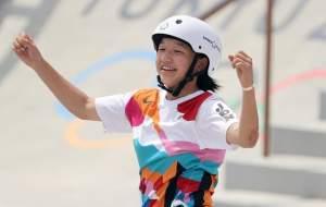 دختر ۱۳ ساله قهرمان المپیک شد