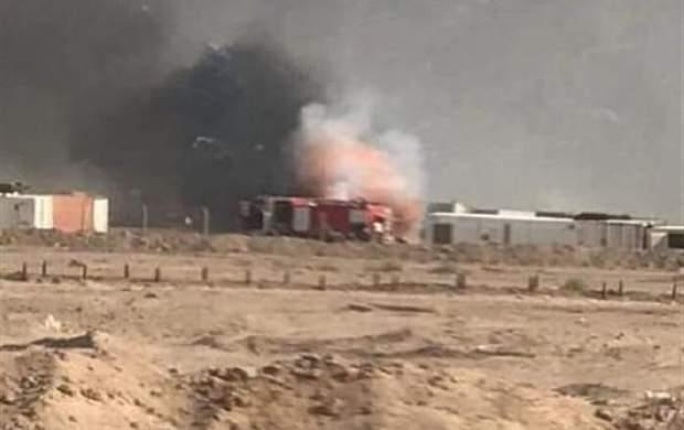 حمله اسرائیل به مقر حشدالشعبی در نجف