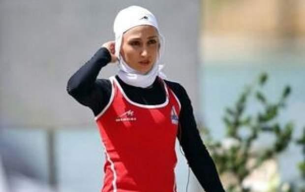 تاریخ سازی در قایقرانی ایران در المپیک