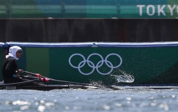 قایقران کشورمان از صعود به فینال المپیک بازماند