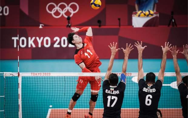 خداحافظی والیبال ایران از المپیک توکیو