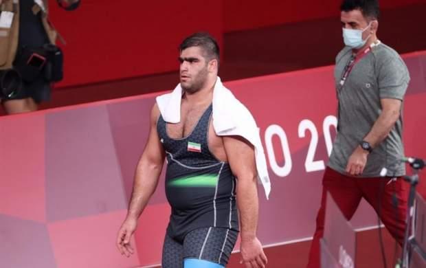 امین میرزازاده مدال برنز المپیک را از دست داد
