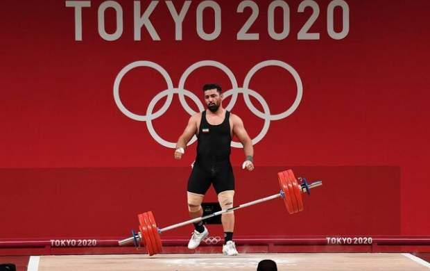 ناکامی هاشمی در وزنهبرداری المپیک