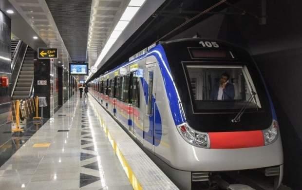 تردد مترو در روز تنفیذ و تحلیف تغییری نمیکند