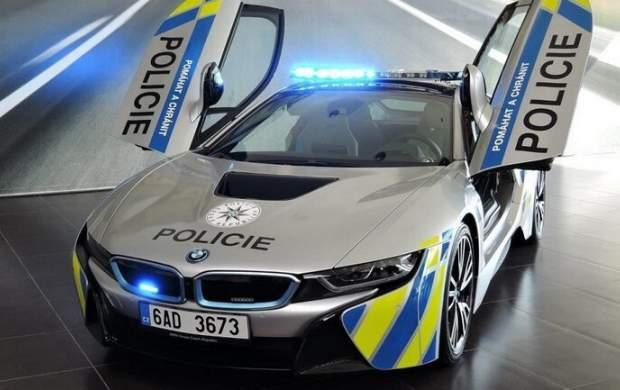 سریعترین خودروهای پلیس در جهان +عکس