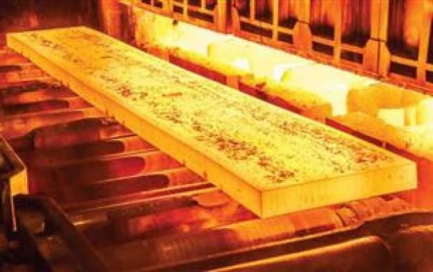 توانمندی فولاد مباركه برای صادرات اسلب گازترش