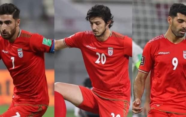 تمجید AFC از مثلث تهاجمی تیم ملی ایران