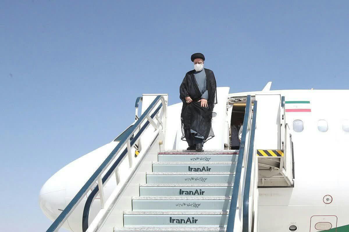 ورود رئیس جمهور به استان خراسان جنوبی
