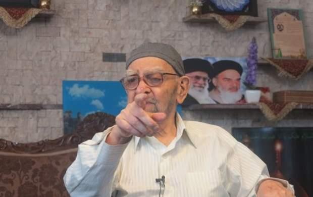 حاجحیدر رحیمپور ازغدی دار فانی را وداع گفت
