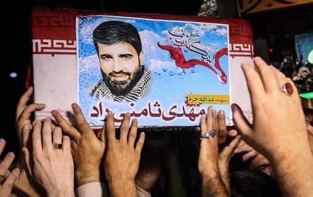 شهید مدافع حرمی که در وصیت نامهاش روضه خواند