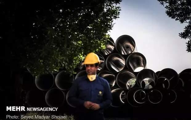 ۱۳ تُن لولههای نفت و گاز مسروقه کشف شد