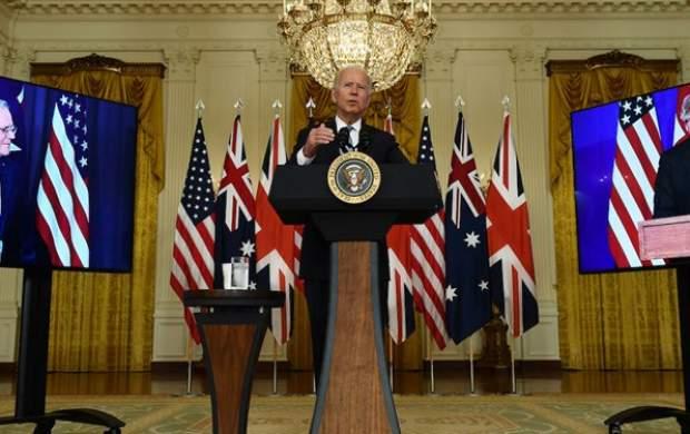 حرکت جدید سلطان گاف/ بایدن این بار نام نخستوزیر استرالیا را فراموش کرد +فیلم