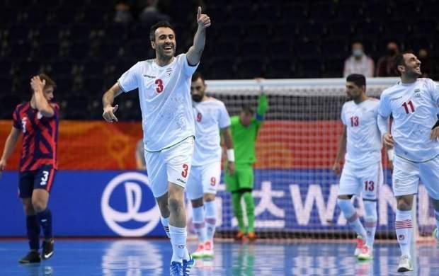 پیروزی سخت تیم ملی فوتسال ایران مقابل آمریکا