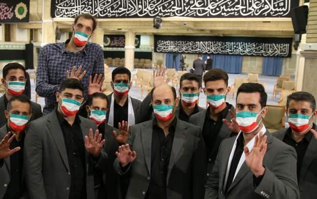 حاشیههای دیدار رهبری با مدالآوران ایران