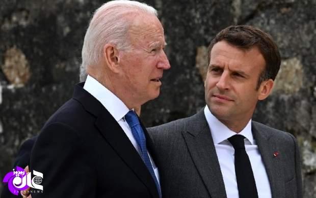 آمریکاییها در حق فرانسویها بیمعرفتی کردند/ ماکرون را بچه حساب کردند