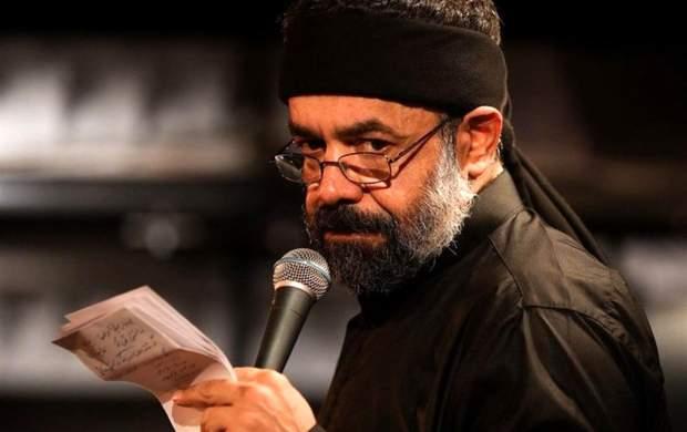 مداحی کریمی در مراسم تشییع یک مداح