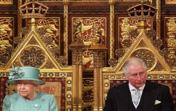دعوای ملکه الیزابت و ولیعهد انگلیس +عکس