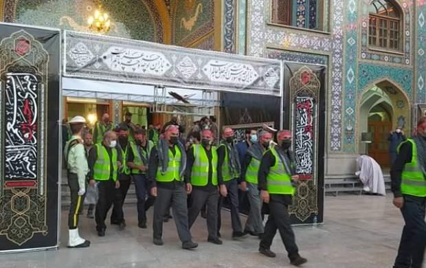 ۳۰۰ خادم الحسین به اربعین اعزام شدند