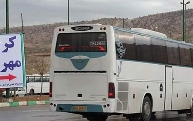 بلیت اتوبوس مهران- تهران ۳۶۰ هزار تومان!