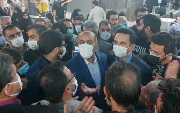 بازدید سرزده وزیر راه از فرودگاه امام خمینی(ره)