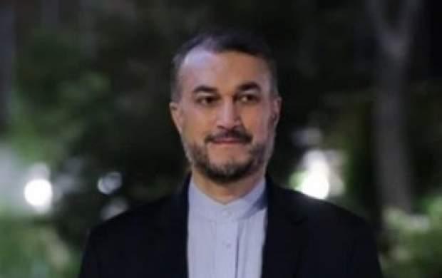 ادای احترام وزیرخارجه ایران به عماد مغنیه