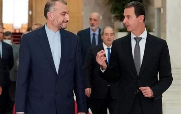 در دیدار امیرعبداللهیان با بشار اسد چه گذشت؟