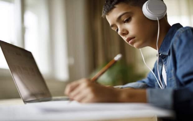 نحوه تمرکز دانشآموزان در کلاسهای آنلاین