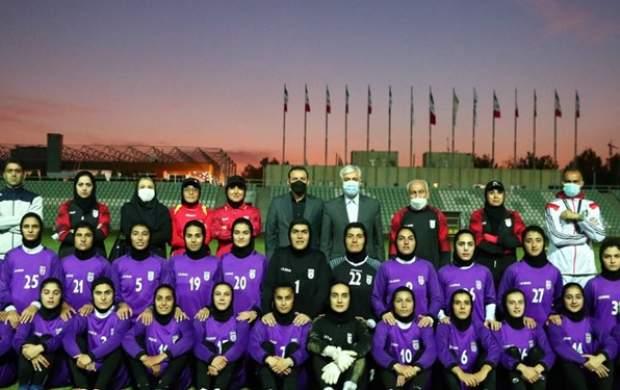 پیام ویژه رییس جمهور به ملی پوشان فوتبال بانوان
