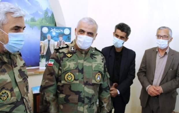 لوح شجاعت ارتش به شهید علی لندی اهدا شد
