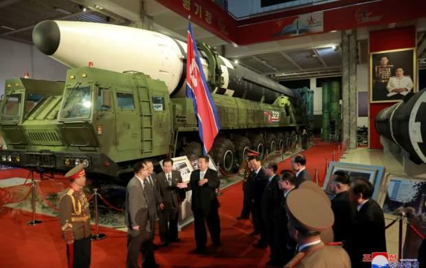 """نمایشگاه تجهیزات دفاعی کره شمالی  <img src=""""http://cdn.jahannews.com/images/picture_icon.gif"""" width=""""16"""" height=""""13"""" border=""""0"""" align=""""top"""">"""
