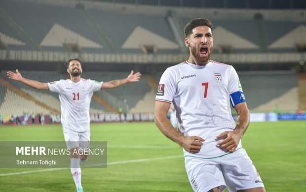 دیدار تیمهای فوتبال ایران و کره جنوبی