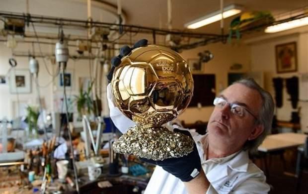 توپ طلا چقدر طلای خالص دارد؟ +عکس