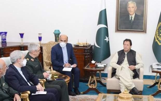 عمران خان: مرز پاکستان و ایران، مرز صلح است