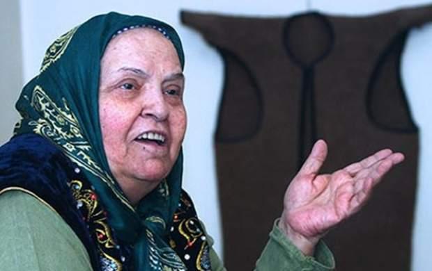 مادر لالایی ایران در بیمارستان بستری شد