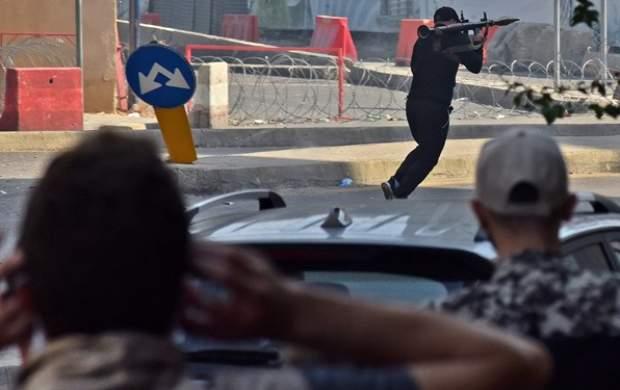 """تمام تصاویر درگیریهای بیروت +فیلم  <img src=""""http://cdn.jahannews.com/images/video_icon.gif"""" width=""""16"""" height=""""13"""" border=""""0"""" align=""""top"""">"""