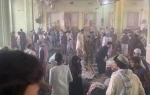 انفجار در مسجد شیعیان قندهار؛ ۶۲ شهید و ۶۸ زخمی/ تصاویر تلخ «۱۸+»