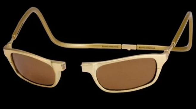 عینک طلا